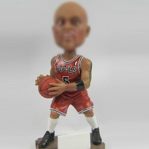 Basketball player bobble