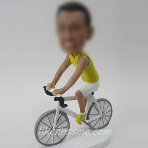 bike and man bobble