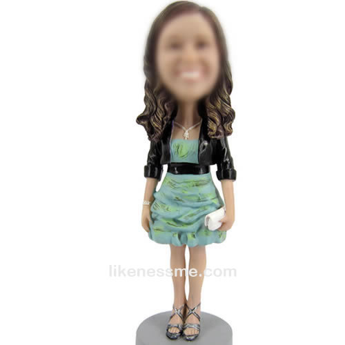 bobble head dolls of Leisure woman
