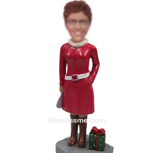 custom Chrismas gifts bobbleheads