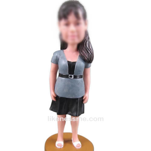 custom Female bobbleheads
