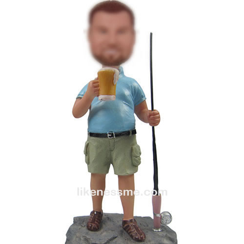 Fishing bobbleheads