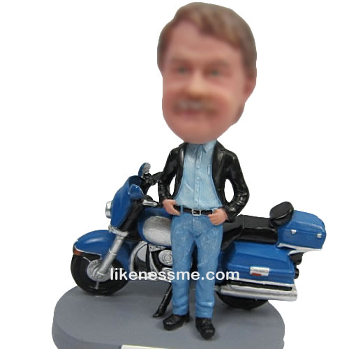 Motorcycle bobbleheads