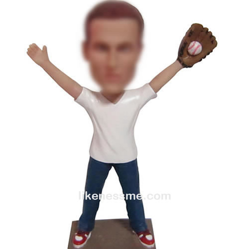 professional bobblehead baseball player