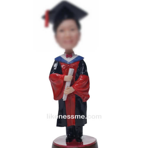 professional Custom Graduation bobbleheads
