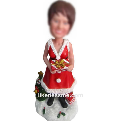 professional Custom Santa Claus bobble head