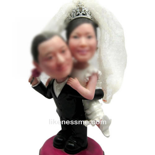professional Custom Wedding cake toppers