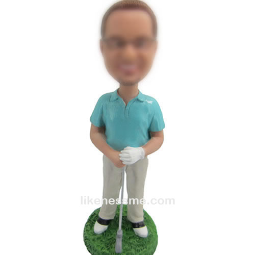 professional golf bobble head doll
