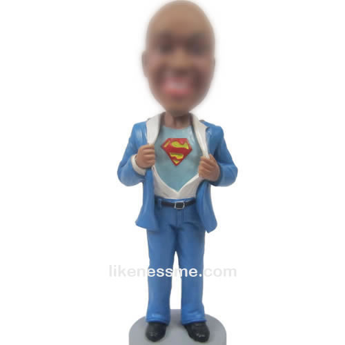 super man bobbleheads