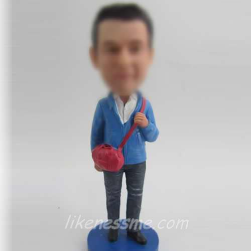 comfortable Male bobble head dolls