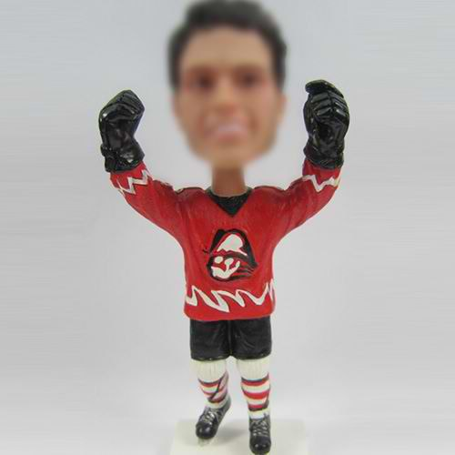 custom sports bobble doll