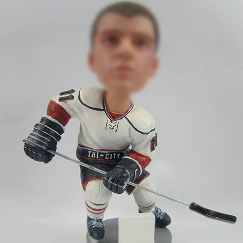 Hockey players bobble