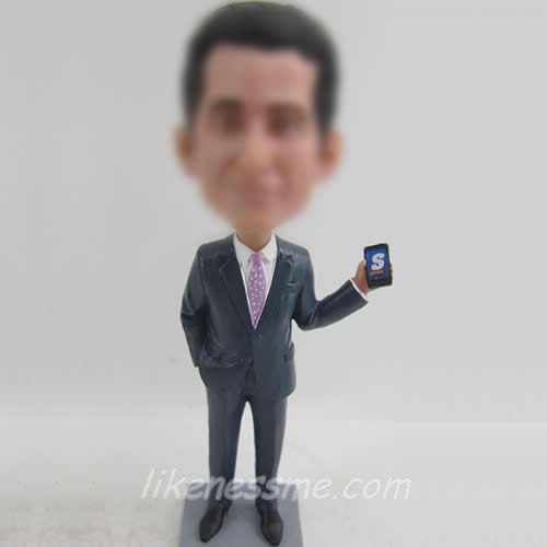man in suit bobblehead