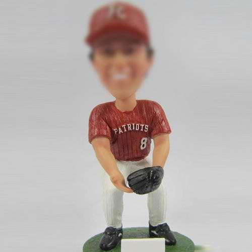 professional Baseball Athlete bobble head doll
