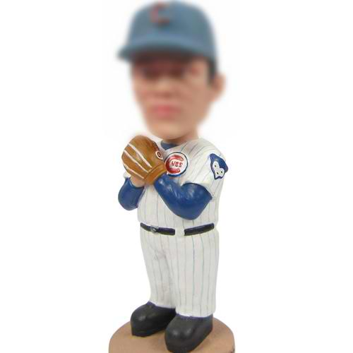 professional Baseball sportsman bobble head doll