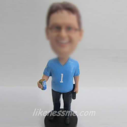 professional Casual Male bobblehead
