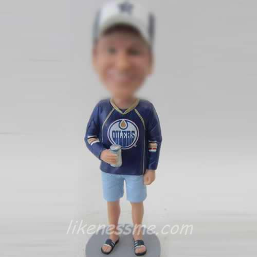 professional comfortable Male bobblehead