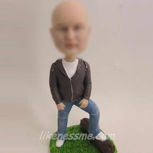 professional comfortable Male bobblehead dolls