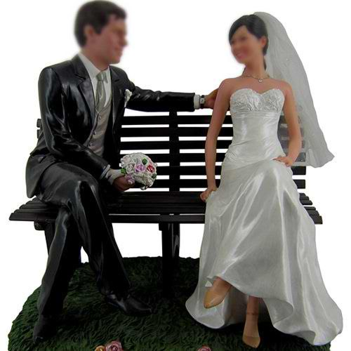Professional Custom Wedding Bobble Head 12 Inch